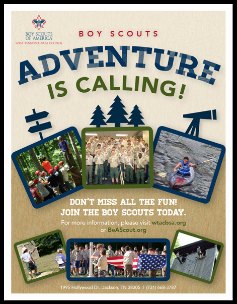 Cub Scout Flyer Template Inspirational Boy Scouts Of America Flyers On Behance