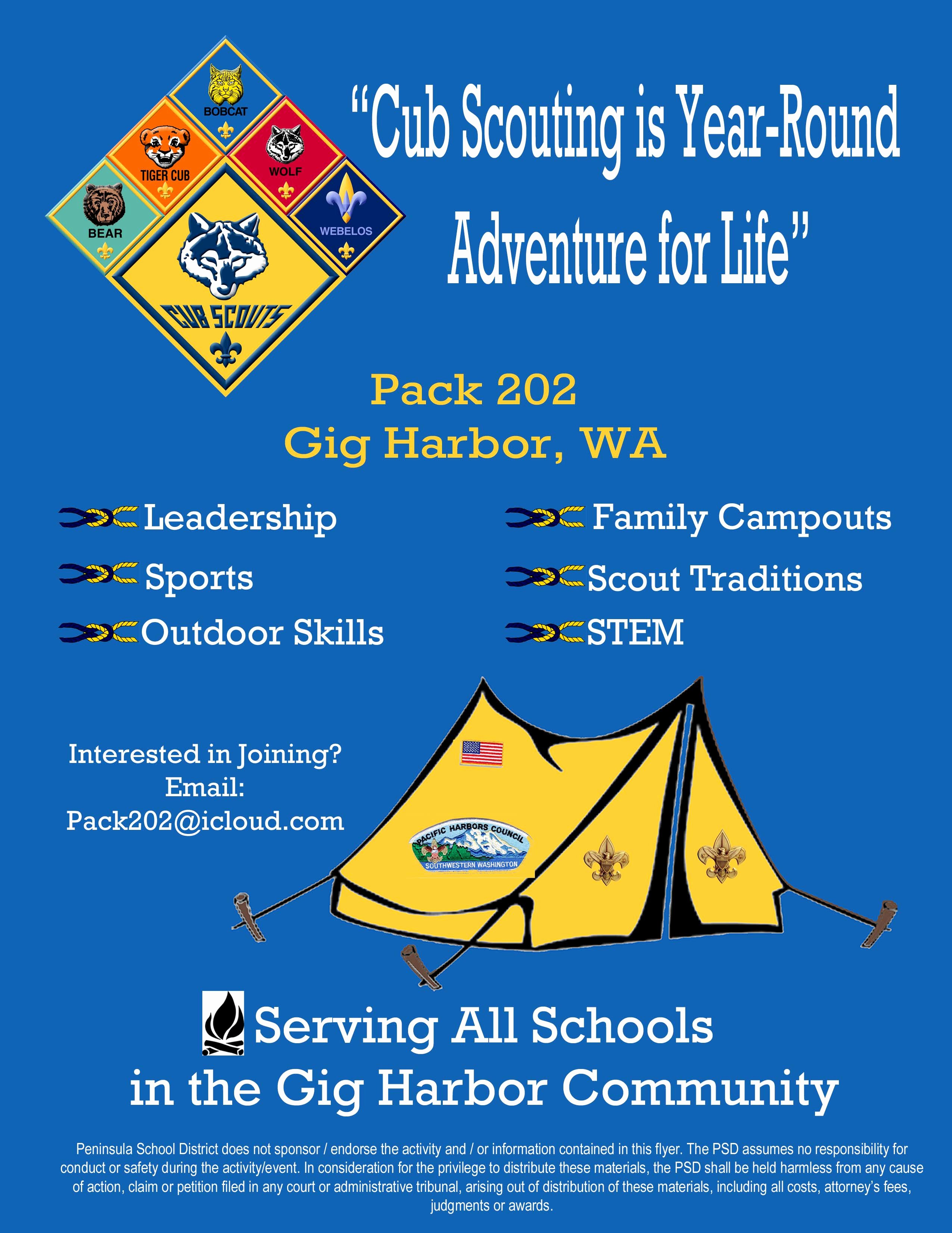 Cub Scout Flyer Template Luxury Flyers and Flyer Approval Process – Psd 401