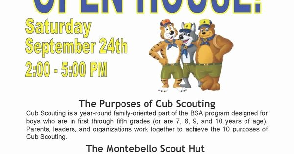 Cub Scout Flyer Template New Cub Scout Recruitment Flyer Template