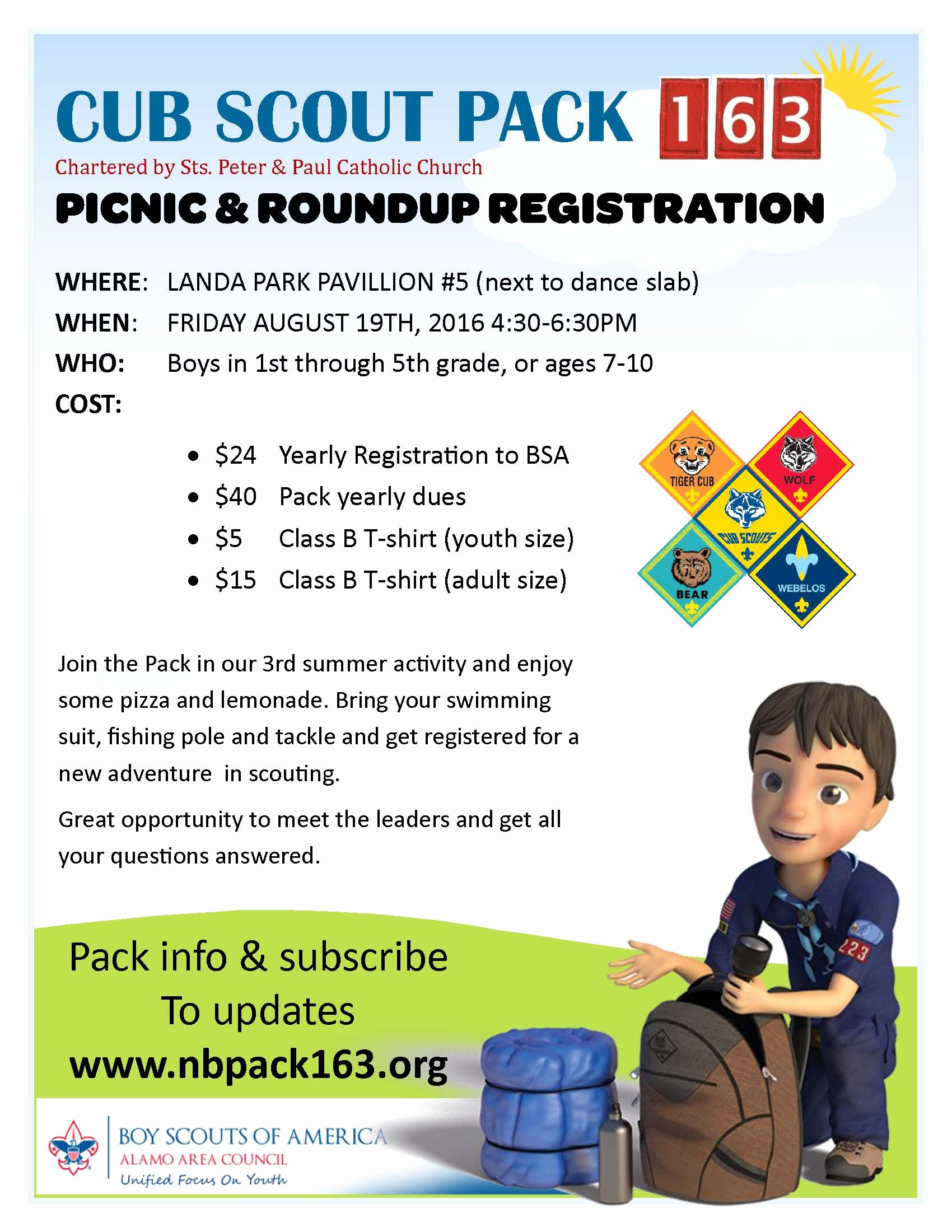 Cub Scout Flyer Template New Join Cub Scouts