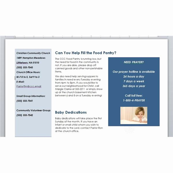 Current event Paper Sample Best Of How to Make A Church Newsletter Making Church Newsletters