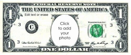 Custom Dollar Bill Template Best Of Free Custom Printable Play Money Template