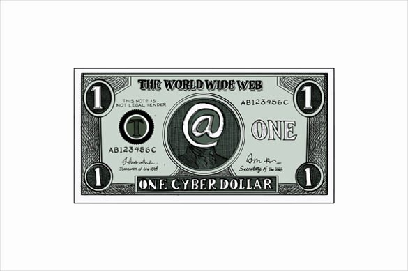 Custom Dollar Bill Template Lovely 6 Play Money Templates Psd Pdf