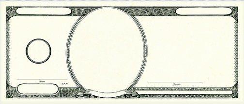 Custom Dollar Bill Template New Fundred Info