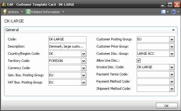 Customer Info Card Template Unique Configure the Prospect Template