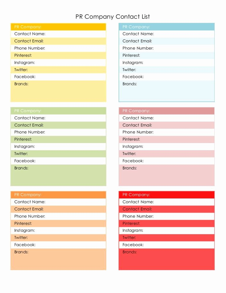 Customer Information Card Template Awesome 1000 Images About Blogging On Pinterest