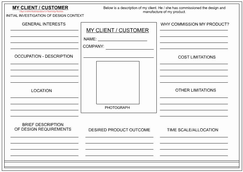 Customer Information Card Template Luxury 14 Design Client Profile Template Interior Design