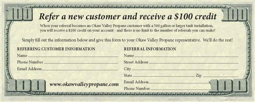 Customer Referral form Beautiful Customer Referral Program