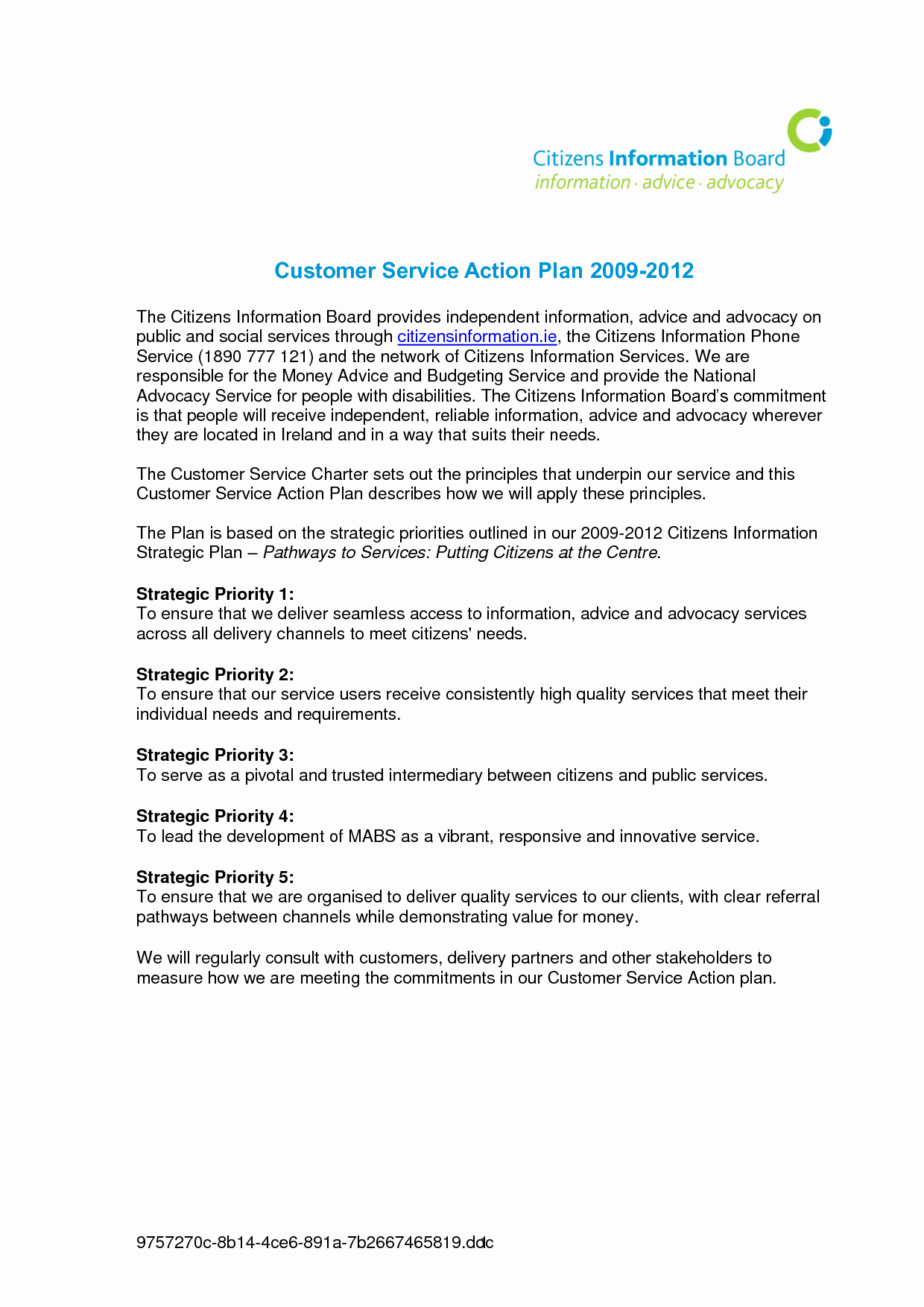 Customer Service Action Plan Examples New Best S Of Written Marketing Plan Examples Sample