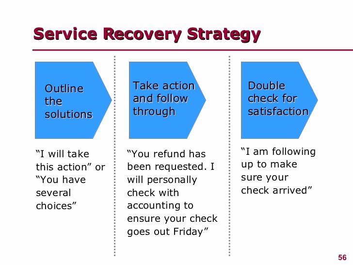 Customer Service Action Plan Examples New Managing Customer Service