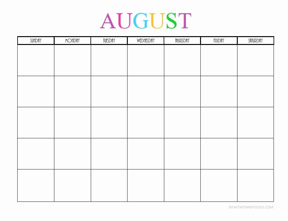 Cute Calendar Template 2019 Unique Print Cute 2019 Calendar Template Monthly Calendar Templates
