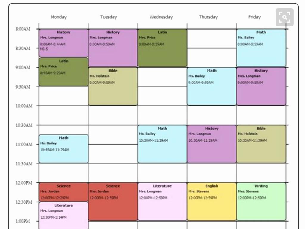 Cute Class Schedule Maker Awesome Cute Class Schedule Maker