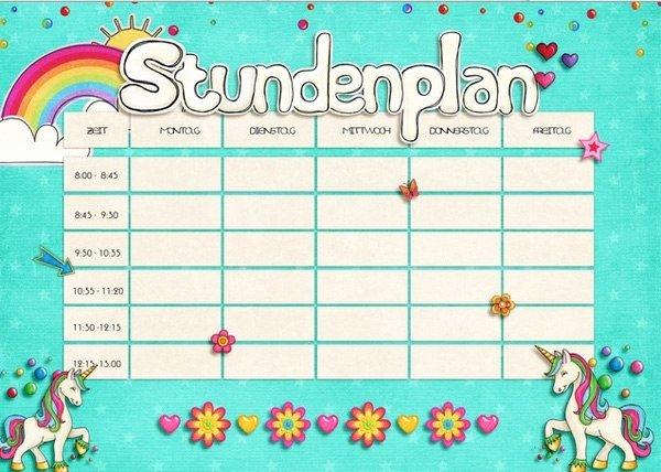 Cute Class Schedule Maker Luxury Cute Class Schedule Template