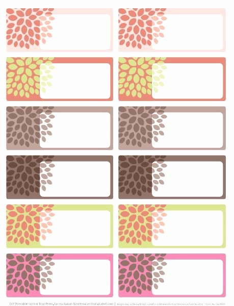 Cute Printable Address Book Awesome Great Printable Labels We Ll Use them to Label their