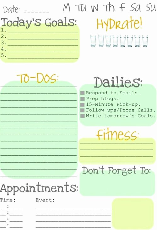 Cute to Do List Template Awesome Making to Do Lists Fun Clean and Scentsible