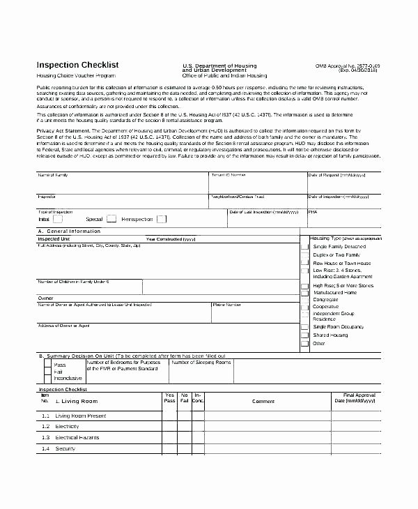 Daily Equipment Inspection form Fresh Equipment Inspection Checklist Template – Jakobsmith
