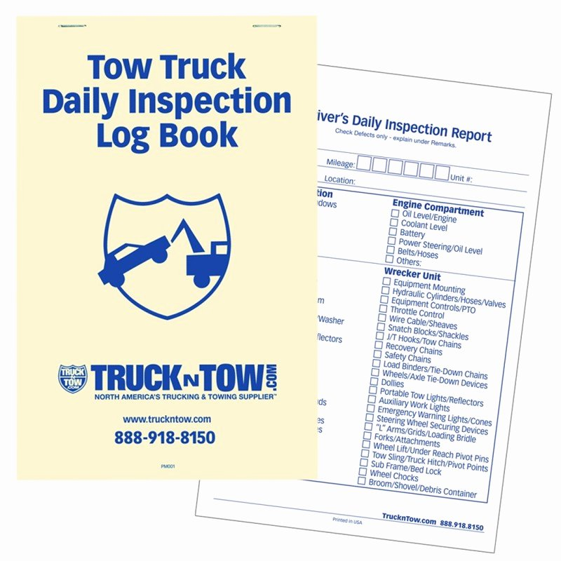 Daily Equipment Inspection form Luxury Driver S Daily Vehicle Inspection Report Dozen