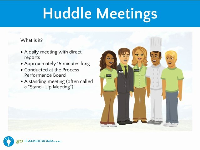 Daily Huddle Template Best Of How Leaders Can Support Lean Using Leader Standard Work