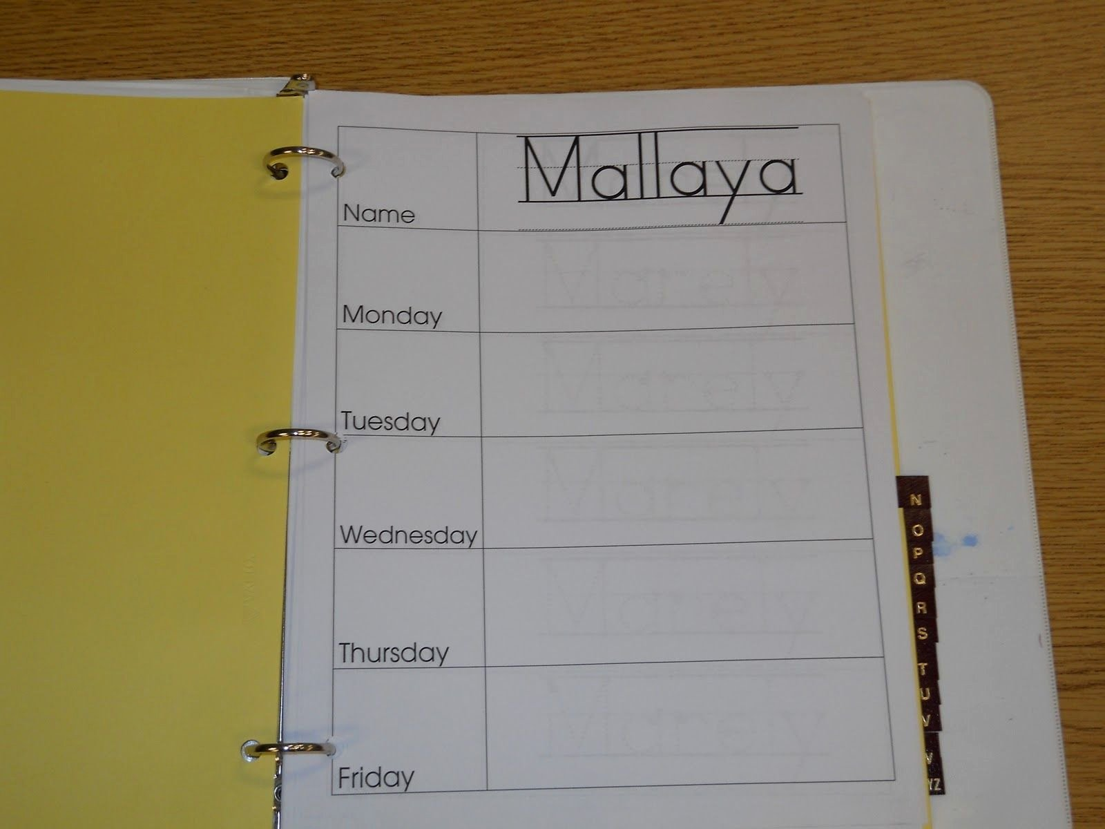 Daily Sign In Sheet for Daycare Beautiful Daily Sign In Binder there S One Page Per Student Per