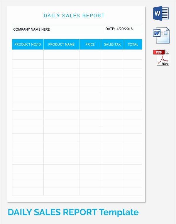 Daily Work Report Template Best Of Sample Daily Work Report Template 22 Free Documents In