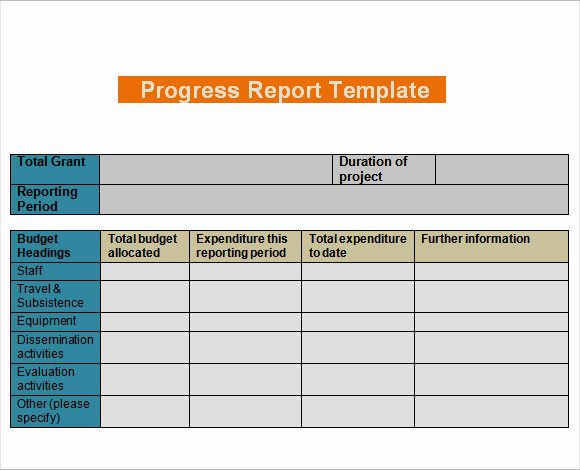 Daily Work Report Template Inspirational Daily Progress Report Templates Writing Word Excel format