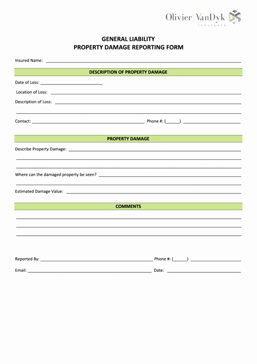 Damage Waiver form Unique top Property Damage Release form Templates Free to