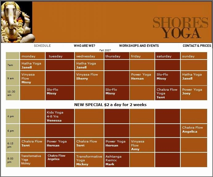 Dance Schedule Template Inspirational Mynewsletterbuilder Wynne Paris Saturday 1 19 08