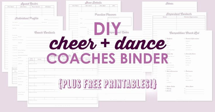 Dance Schedule Template Lovely the 25 Best Planner Sheets Ideas On Pinterest