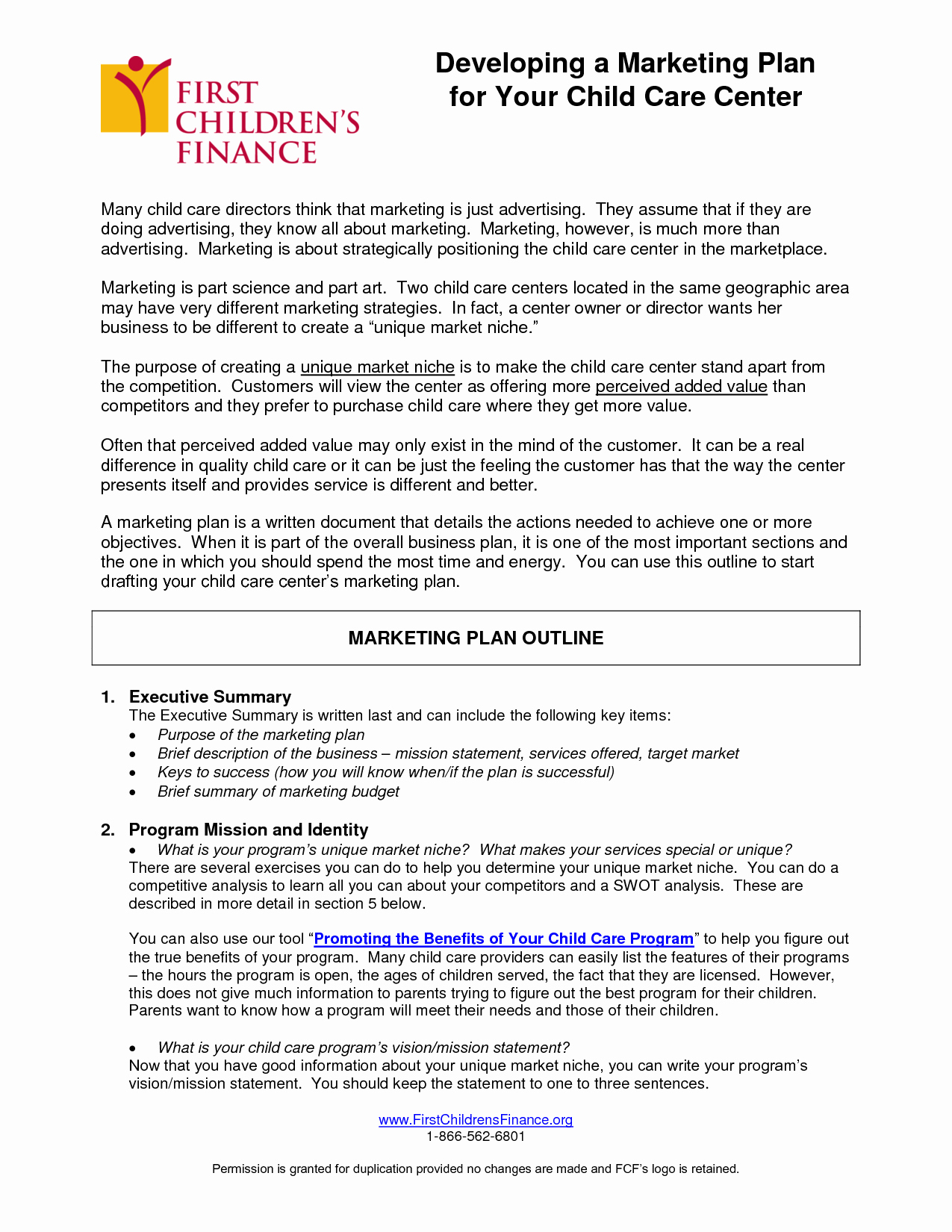 Daycare Business Plan Template Free Download Inspirational Writing A Business Plan for A Daycare Center