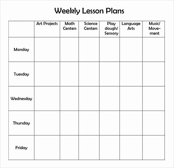 Daycare Lesson Plan Template Best Of Best 25 Preschool Lesson Template Ideas On Pinterest