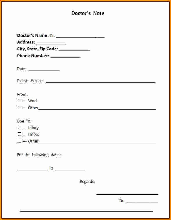 Dental Excuse Note Inspirational Fake Dentist Note Template