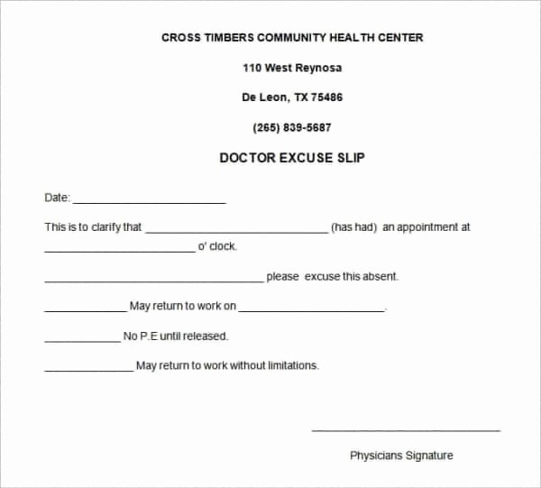 Dental Excuse Note Lovely 31 Doctors Note Templates Pdf Doc