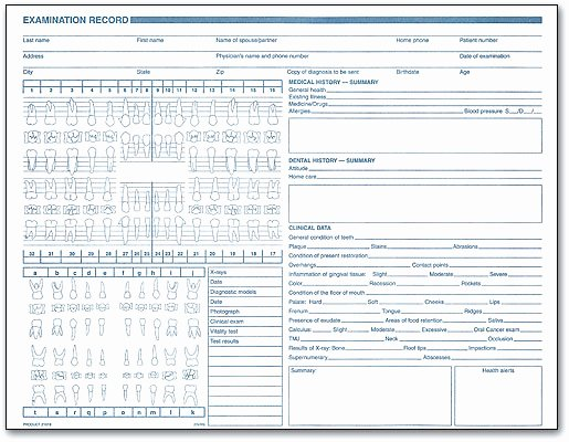 Dental Patient forms Template Inspirational Clinical forms Make Dental Charting Easy
