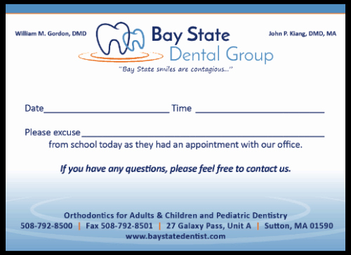 Dentist Excuse Letter for School Best Of School Excuse Notepads