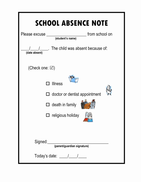 Dentist Excuse Letter for School Fresh the School Excuse