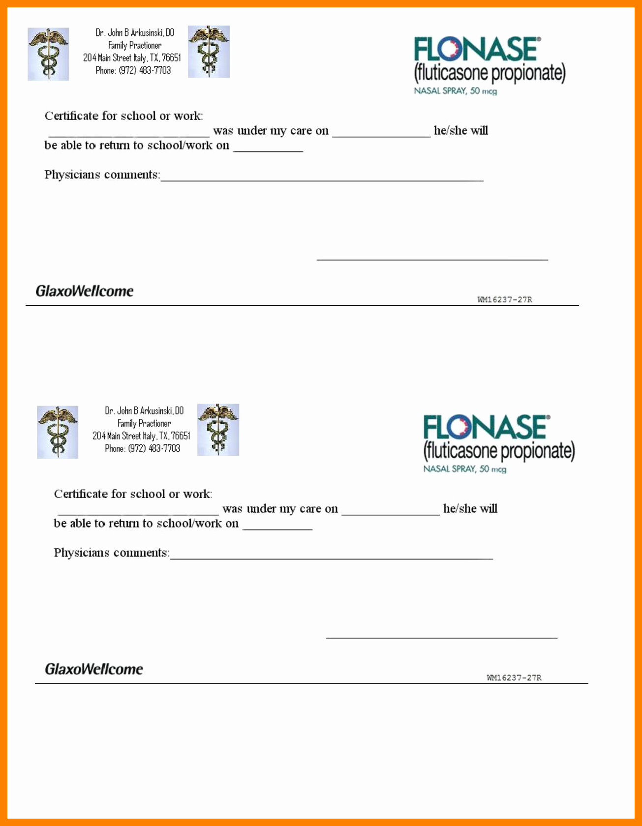 Dentist Excuse Letter for School Inspirational Doctor Excuse Template Pdf