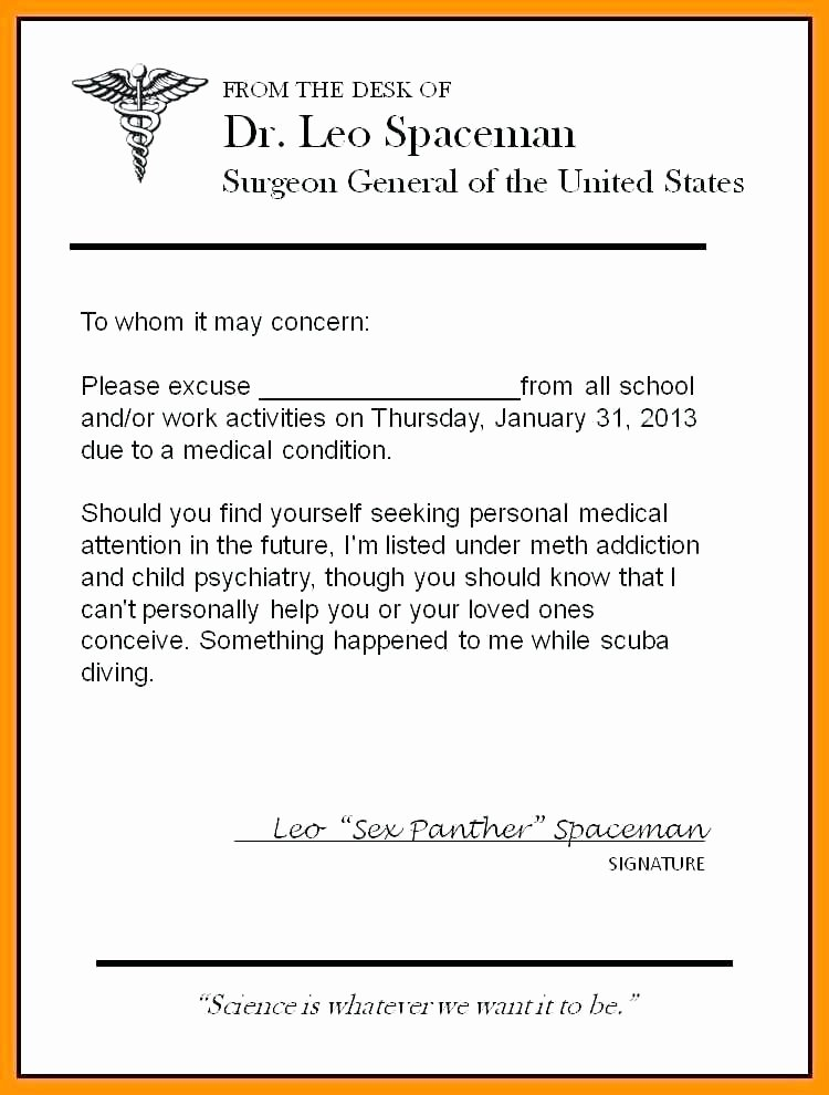 Dentist Excuse Template Best Of 12 13 Sample Of Excuse Letter In School