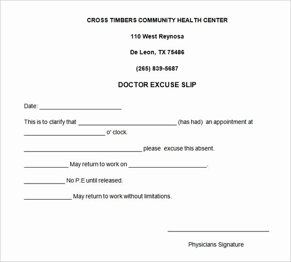 Dentist Excuse Template Lovely 4 Free Doctors Note for Work Templates Word Excel