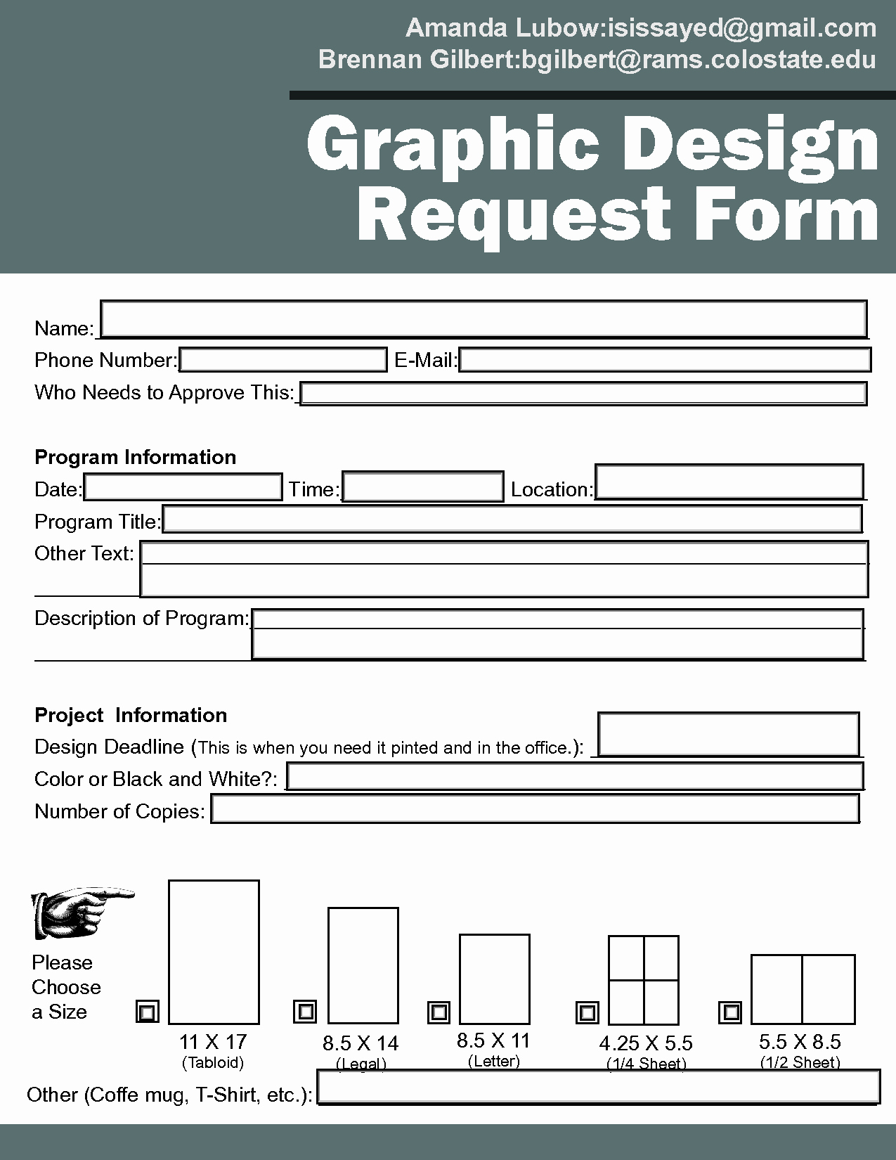 Design Request form Template Inspirational Graphic Design Contract Template