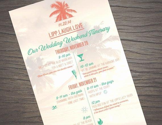 Destination Wedding Itinerary Template Elegant Best 25 Destination Wedding Itinerary Ideas On Pinterest