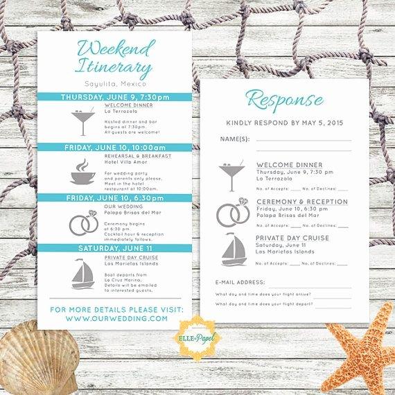 Destination Wedding Itinerary Template Unique Best 25 Destination Wedding Itinerary Ideas On Pinterest