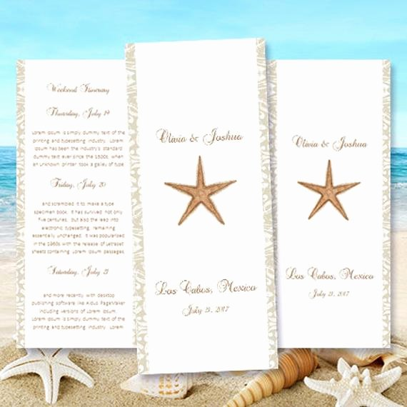 Destination Wedding Itinerary Template Unique Destination Wedding Itinerary Template Starfish