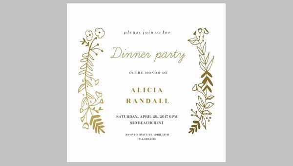 Dinner Invite Template Word Fresh 62 Printable Dinner Invitation Templates Psd Ai Word