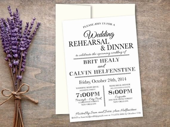 Dinner Invite Template Word New 25 Best Ideas About Rehearsal Dinner Invitation Wording