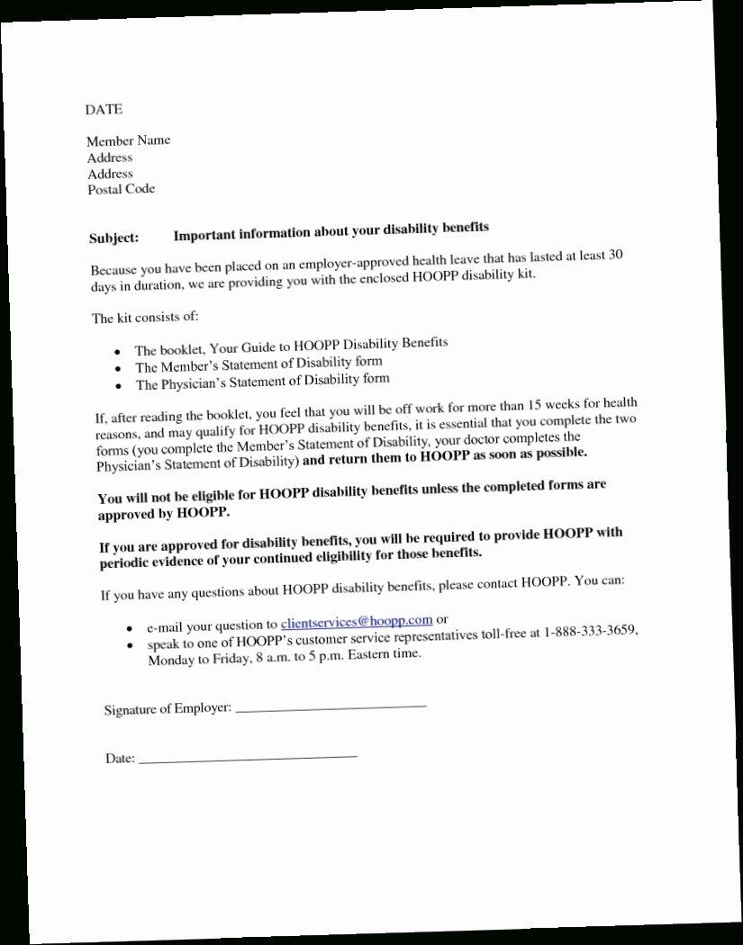 Disability Letter From Doctor Sample Elegant Sample Disability Letter From Doctor Amazing Paper S