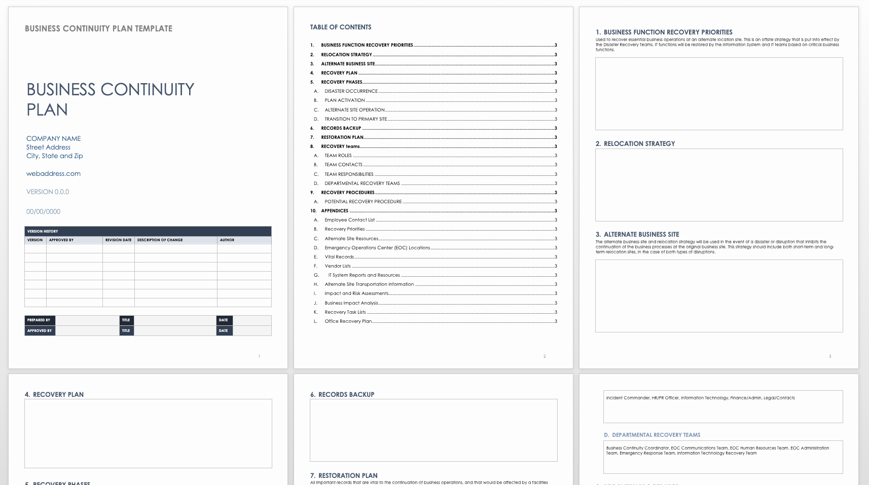 Disaster Recovery Plan Template Nist Inspirational Disaster Recovery Plan Template In Word Apple Pages