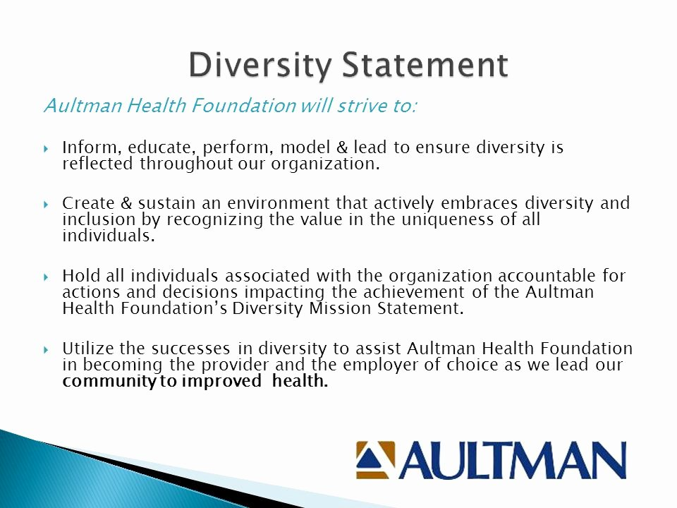 Diversity Statement Medical School Example Elegant Fostering Diversity Inclusion & Culturally Petent Care