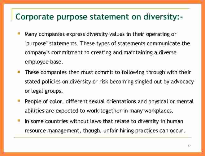 Diversity Statement Medical School Example Lovely 7 Mitment to Diversity Statement Example