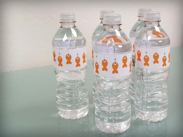 Diy Water Bottle Label Template Lovely Bump Smitten Diy Shower Water Bottle Labels Free Download