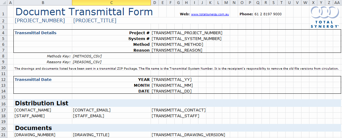 Document Transmittal form Template Luxury Transmittal Ms Excel Template